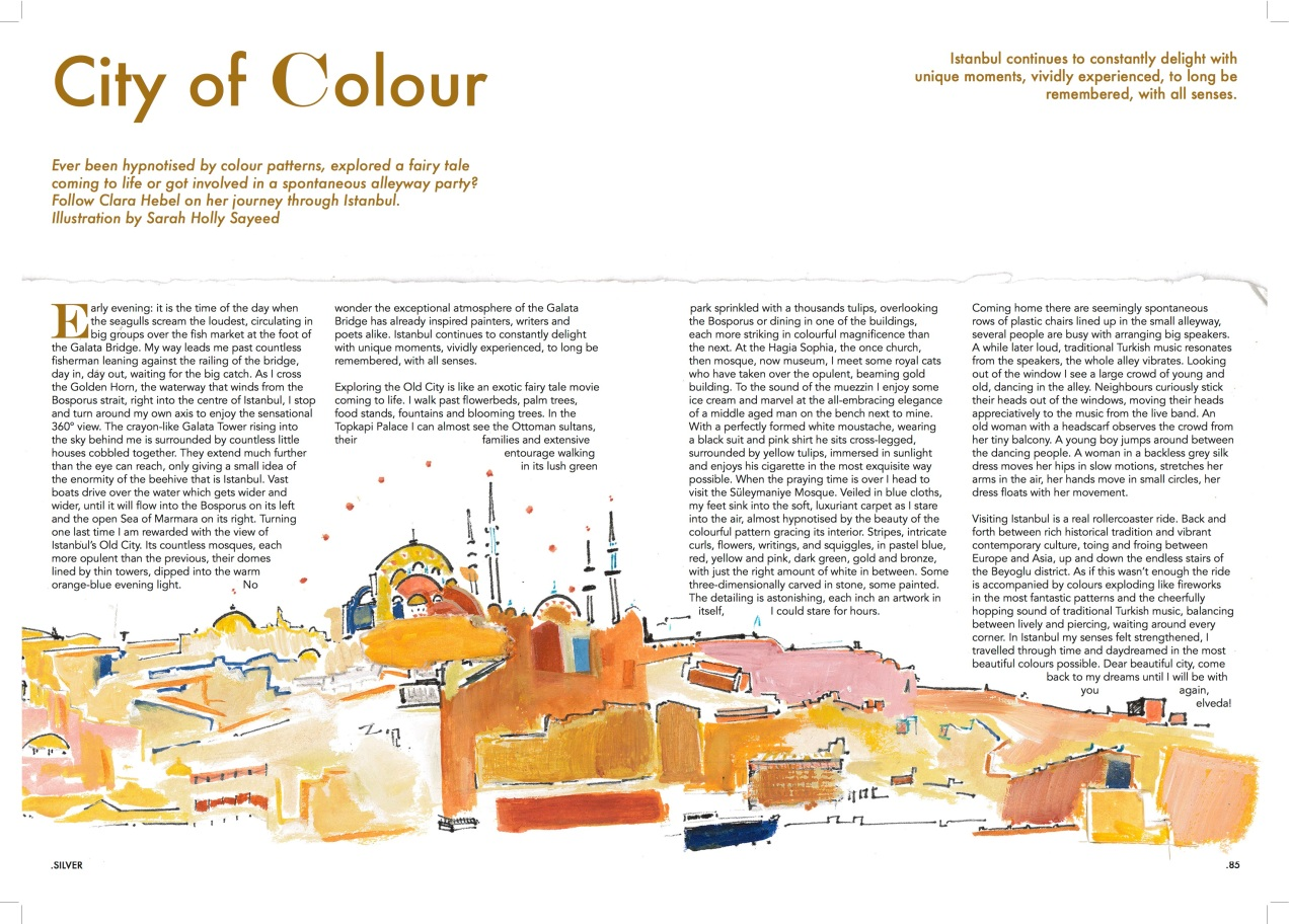 City of Colour Silver magazine