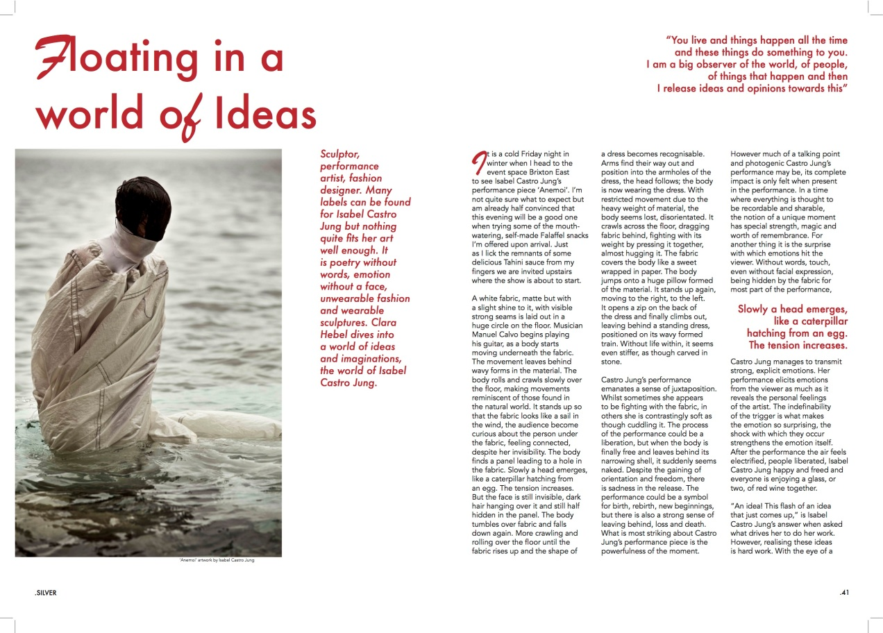 Floating in a world of ideas